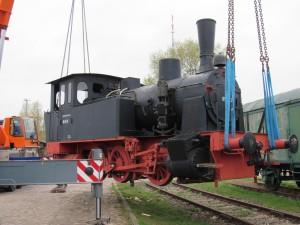 Fliegende Wagen und Lokomotiven, Arbeitseinsatz am 7. April 2017